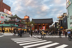 Tempio a TOKYO, Giappone per uso editoriale soltanto Fotografia Stock