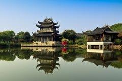 Tempio tradizionale cinese Fotografia Stock Libera da Diritti