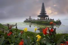 Tempio Ulan Danu Bratan Fotografia Stock