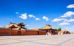 Tempio-Un di Beizi di grande vecchio lamasery quattro in Mongolia Interna. Fotografie Stock