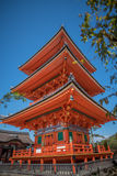 Tempio vicino di Kiyomizu-dera del tempio di Taisan-ji Immagine Stock