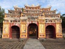 Tempio vietnamita Fotografia Stock