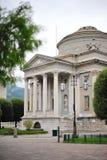 Tempio Volta in Como Fotografie Stock Libere da Diritti