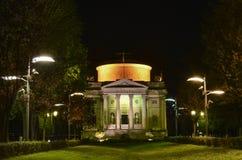 Tempio Voltiano en Como Fotos de archivo libres de regalías