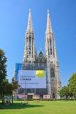 Tempio votivo (Churchis votivo) a Vienna, Austria fotografia stock