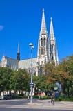 Tempio votivo (Churchis votivo) a Vienna, Austria immagine stock libera da diritti