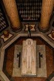 Tempio Votivo di Cristo Beträffande (den Votive templet av Kristus konungen) - Messina, Sicilien, Italien Arkivbild