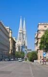 Tempio votivo a Vienna, Austria immagini stock