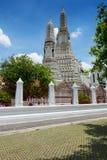 Tempio Wat Arun a Bangkok Fotografia Stock Libera da Diritti