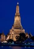 Tempio, Wat Arun, Bangkok, Tailandia Fotografia Stock Libera da Diritti