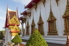 Tempio Wat Chalong, Phuket thailand immagine stock libera da diritti