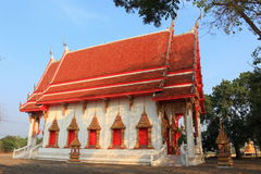 Tempio a Wat Lam Bua Fotografia Stock