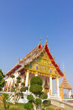 Tempio a Wat Pak Kran Fotografia Stock Libera da Diritti