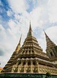Tempio Wat Pho Old History, Tailandia fotografia stock libera da diritti