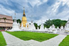 Tempio Wat Suan Dok in Chiang Mai; La Tailandia fotografia stock