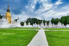 Tempio Wat Suan Dok in Chiang Mai; La Tailandia immagine stock libera da diritti