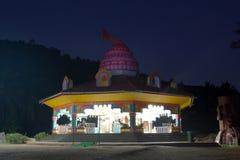 Templ i natten Royaltyfria Foton