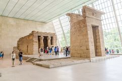 Templa of Dendur Royalty Free Stock Images