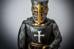 Templar action figure Stock Images