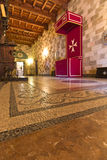 Templar adelt Palast in Rhodos Lizenzfreies Stockbild