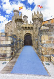 Templar Castle Royalty Free Stock Images
