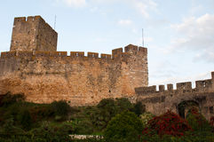 Templar Castle fortress Royalty Free Stock Image