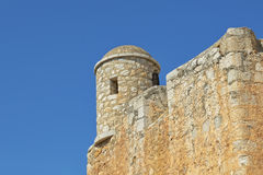Templar Castle in historical center of Peniscola, Spain Royalty Free Stock Photo