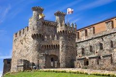 Templar castle of Ponferrada Royalty Free Stock Photo