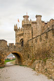 Templar castle Ponferrada Stock Photo