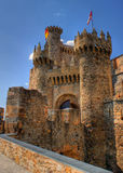 Templar Castle of Ponferrada Stock Photos