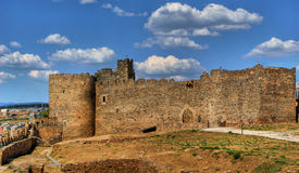 Templar Castle of Ponferrada Royalty Free Stock Photos