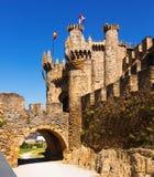 Templar Castle. Ponferrada Royalty Free Stock Images