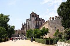 Templar Castle in Tomar. Portugal Stock Photo
