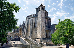 Templar Castle in Tomar. Portugal Royalty Free Stock Image