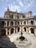 Templar Castle in Tomar. Portugal Stock Image