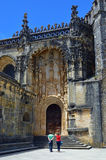 Templar Convent of Christ in Tomar, Portugal Royalty Free Stock Image