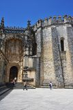 Templar Convent of Christ in Tomar, Portugal Stock Image