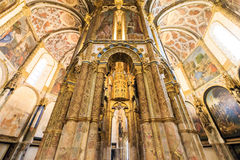 The Templar Convent of Christ is UNESCO World Heritage. Royalty Free Stock Images