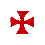 Templar Cross Royalty Free Stock Images