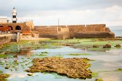 Templar fästning i tunnland Fotografering för Bildbyråer