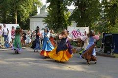 Templar festivities Royalty Free Stock Photography