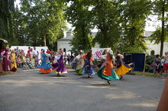 Templar festivities Royalty Free Stock Photo