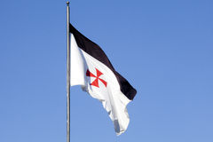 Templar flag Stock Photography