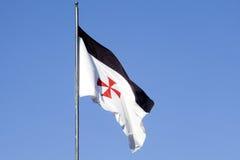 Templar flag Stock Photography
