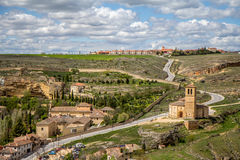 Templar Iglesia Βέρα Cruz Segovia, Ισπανία Στοκ φωτογραφίες με δικαίωμα ελεύθερης χρήσης