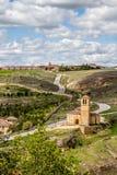 Templar Iglesia Vera Cruz in Segovia, Spanje Royalty-vrije Stock Afbeeldingen