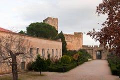 templar slott Royaltyfri Fotografi