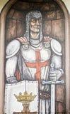 Templar soldier Stock Photo