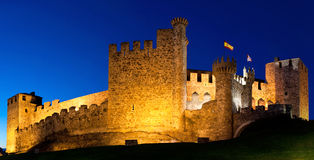 Templarium castle, Ponferrada, Santiago Road, Spain Stock Photos