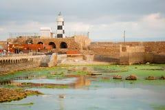 Templariusza forteca w akrze Zdjęcia Stock